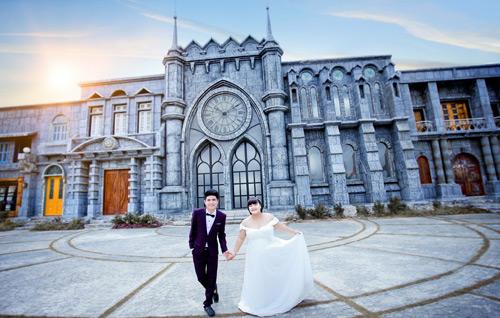 Ngắm ảnh cưới của cặp đôi hơn nhau 30kg - 12
