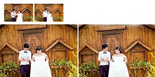 Ngắm ảnh cưới của cặp đôi hơn nhau 30kg - 13