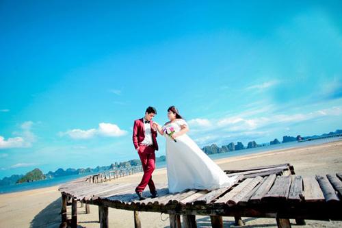 Ngắm ảnh cưới của cặp đôi hơn nhau 30kg - 2