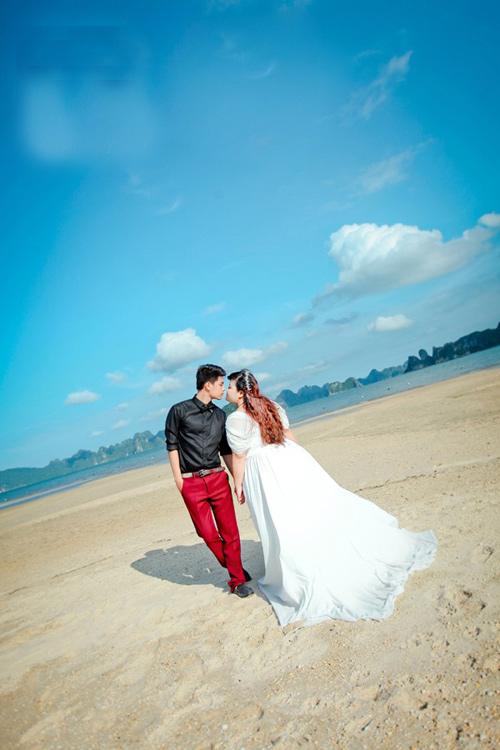 Ngắm ảnh cưới của cặp đôi hơn nhau 30kg - 3