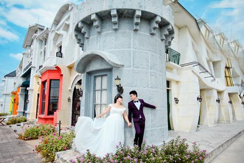 Ngắm ảnh cưới của cặp đôi hơn nhau 30kg - 4