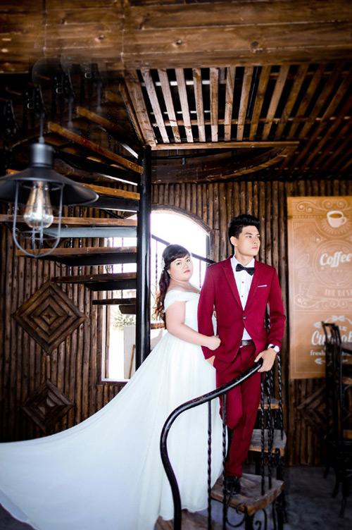 Ngắm ảnh cưới của cặp đôi hơn nhau 30kg - 5