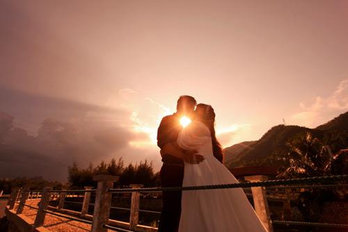 Ngắm ảnh cưới của cặp đôi hơn nhau 30kg - 7