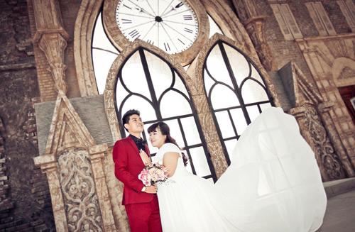 Ngắm ảnh cưới của cặp đôi hơn nhau 30kg - 8