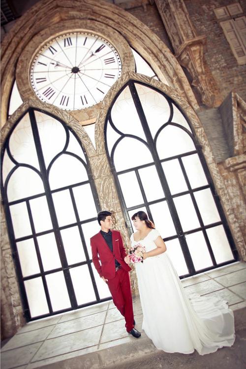 Ngắm ảnh cưới của cặp đôi hơn nhau 30kg - 9