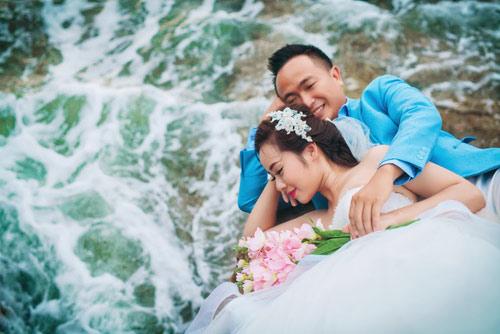 Bộ ảnh cưới đáng ghen tị của cặp đôi yêu 7 năm - 14