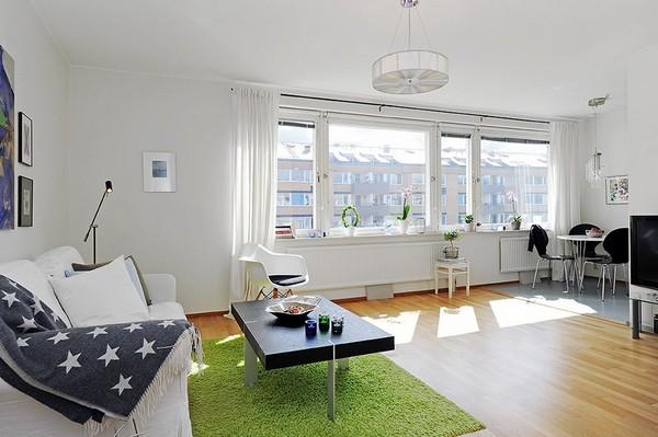 Chỉ 44m² nhưng nhờ cách bài trí mà căn hộ này trông rộng đến khó tin - Ảnh 1.