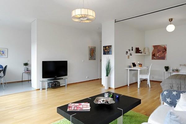 Chỉ 44m² nhưng nhờ cách bài trí mà căn hộ này trông rộng đến khó tin - Ảnh 2.