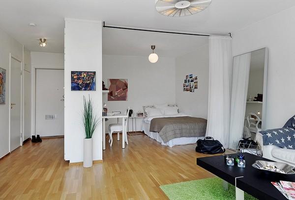 Chỉ 44m² nhưng nhờ cách bài trí mà căn hộ này trông rộng đến khó tin - Ảnh 4.