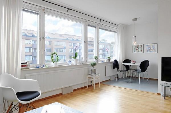 Chỉ 44m² nhưng nhờ cách bài trí mà căn hộ này trông rộng đến khó tin - Ảnh 7.