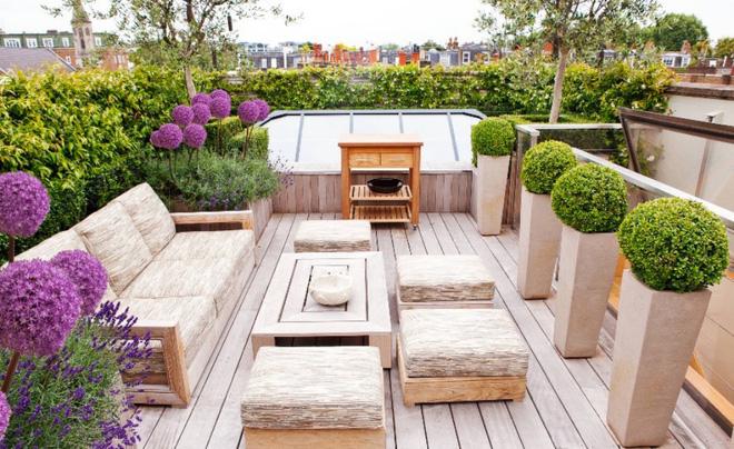Tạo phòng khách ngoài trời đẹp như trong mơ nhờ ý tưởng trang trí sáng tạo sau - Ảnh 10.