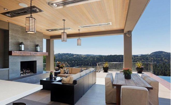Tạo phòng khách ngoài trời đẹp như trong mơ nhờ ý tưởng trang trí sáng tạo sau - Ảnh 2.