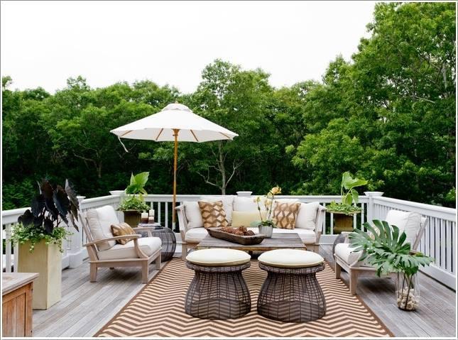 Tạo phòng khách ngoài trời đẹp như trong mơ nhờ ý tưởng trang trí sáng tạo sau - Ảnh 3.