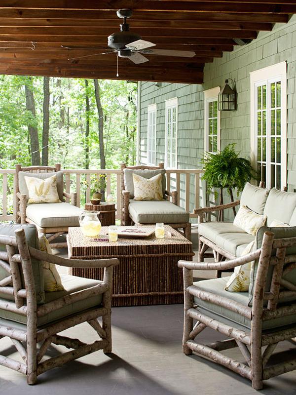 Tạo phòng khách ngoài trời đẹp như trong mơ nhờ ý tưởng trang trí sáng tạo sau - Ảnh 5.