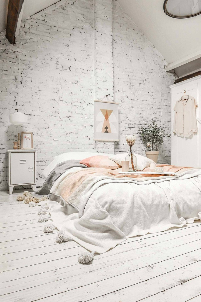 Những căn phòng ngủ chẳng cần đến giường nhưng khiến ai cũng thích - Ảnh 6.