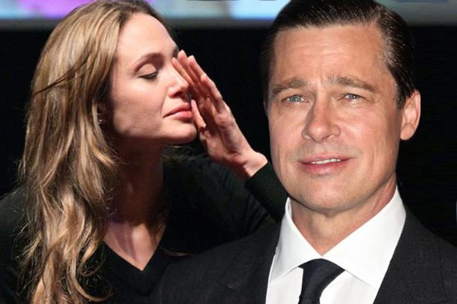 Angelina Jolie bực mình cáu giận với phóng viên khi bị hỏi về Brad Pitt