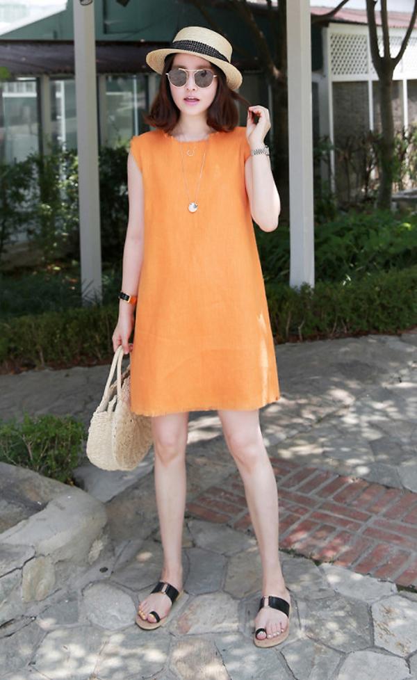 Mặc đẹp cùng xu hướng 'cơn lốc màu da cam'