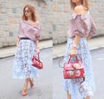 Mayo Wo chia sẻ bí quyết chọn váy để ăn gian tuổi cực đỉnh
