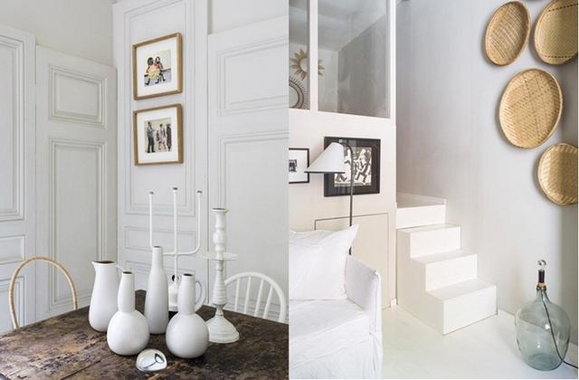 Những món đồ trang trí khác trong căn hộ cũng được khéo léo lựa chọn tuy giản dị nhưng đầy cá tính.