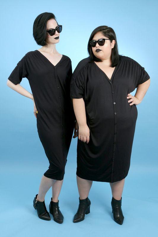2 cô nàng béo và gầy này sẽ cùng mặc thử 1 mẫu trang phục để xem liệu ai sẽ mặc đẹp hơn - Ảnh 12.