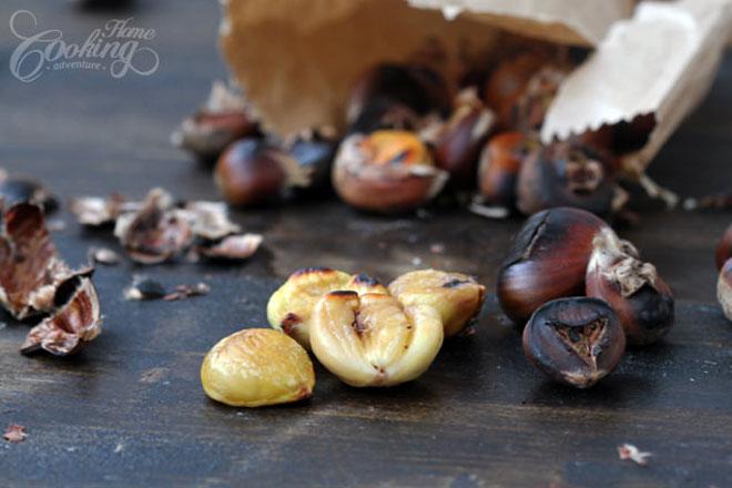 Cách rang hạt dẻ bở tung, thơm phức ai ăn cũng ghiền - 1