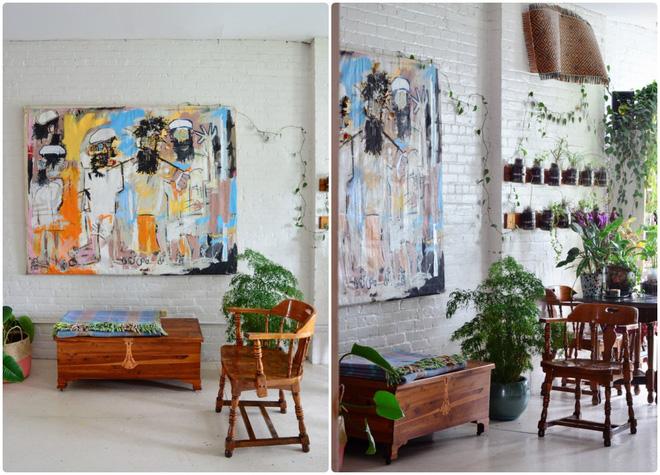 Cô gái độc thân biến căn hộ nhỏ ở chung cư cao tầng của mình thành vườn cây trong phố - Ảnh 10.