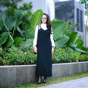 5 mẫu váy đang được các tín đồ thời trang châu Á diện nhiều nhất khi tiết trời se lạnh
