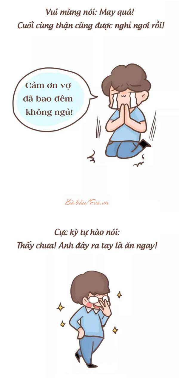 "sau cau noi: ""em co thai roi"" la tram kieu phan ung khong ngo cua cac anh chong - 2"