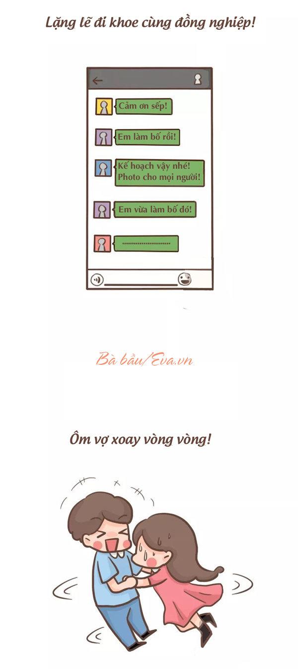 "sau cau noi: ""em co thai roi"" la tram kieu phan ung khong ngo cua cac anh chong - 4"
