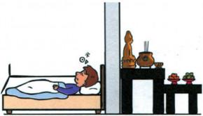 Cách sắp xếp bàn thờ theo phong thủy: Bàn thờ ngay sát phòng ngủ sẽ bất lợi đủ đường