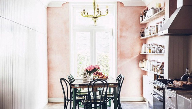 Trang trí nhà với gam màu hồng nhạt cho cô nàng dịu dàng, lãng mạn