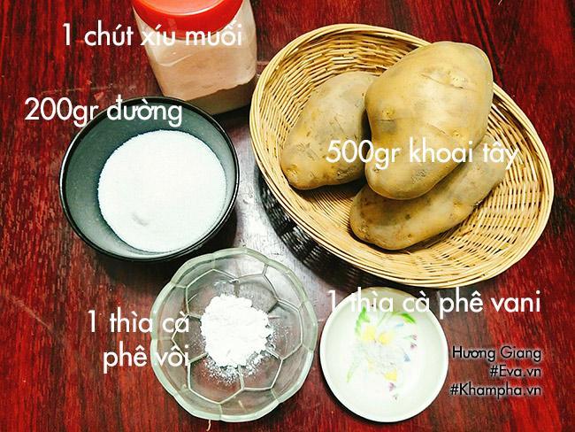 Cách làm mứt khoai tây dẻo ngon, mềm ngọt đón Tết