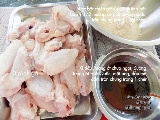 Cách làm gà chiên giòn sốt ngọt tuyệt ngon ăn không thể dừng