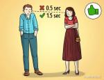 Nhìn ngôn ngữ cơ thể để đoán tình cảm của đối phương