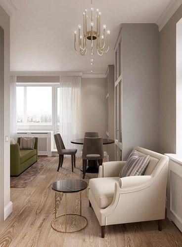 Bên trong căn hộ 31m2 có nội thất vô cùng tiện nghi - Ảnh 5.