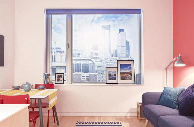 Nội thất trong nhà nhỏ gọn phù hợp với diện tích.