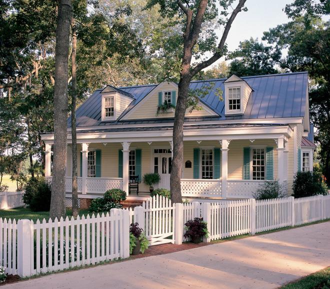 Hàng rào trắng lãng mạn tô điểm cho những ngôi nhà vườn đẹp nên thơ - Ảnh 14.