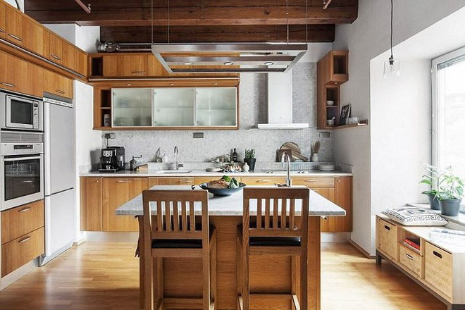 7 cách bố trí thông minh cho không gian nhà bếp thông thoáng - Ảnh 6.