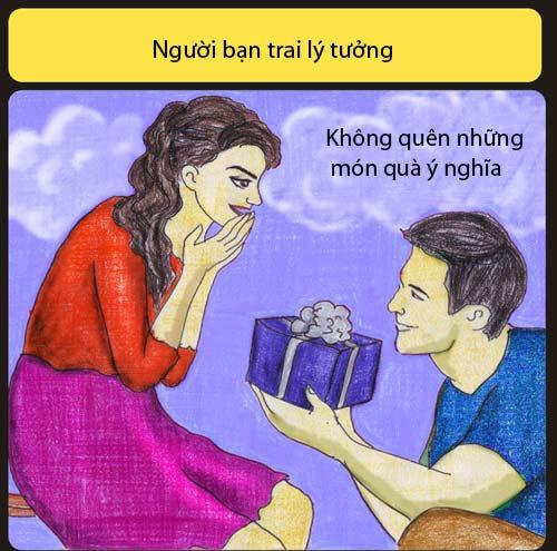 Bạn trai lý tưởng không liếc mắt nhìn cô gái khác - 4