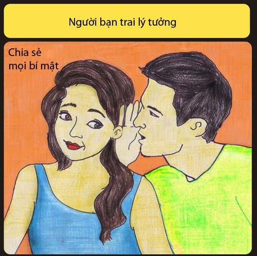 Bạn trai lý tưởng không liếc mắt nhìn cô gái khác - 5