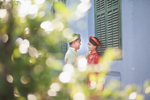 Ảnh cưới đẹp mê hồn của cặp đôi yêu 4 năm 9 tháng - 12