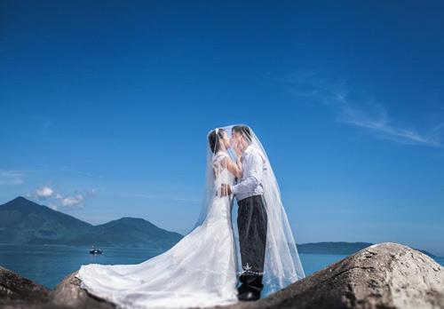 Ảnh cưới đẹp mê hồn của cặp đôi yêu 4 năm 9 tháng - 2