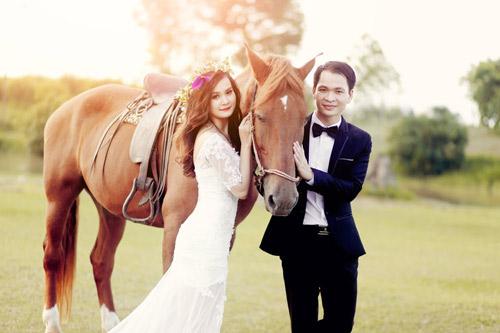 Ảnh cưới đáng yêu của cặp đôi hơn nhau 10 tuổi - 1