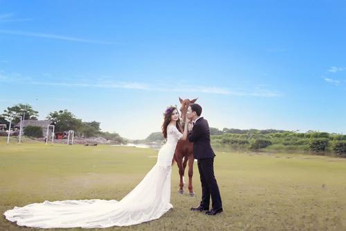 Ảnh cưới đáng yêu của cặp đôi hơn nhau 10 tuổi - 10