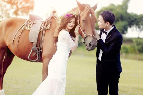 Ảnh cưới đáng yêu của cặp đôi hơn nhau 10 tuổi - 4