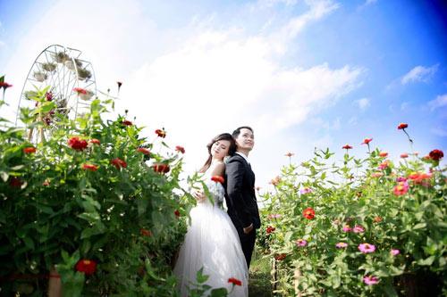 Ảnh cưới đáng yêu của cặp đôi hơn nhau 10 tuổi - 6