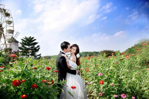 Ảnh cưới đáng yêu của cặp đôi hơn nhau 10 tuổi - 7
