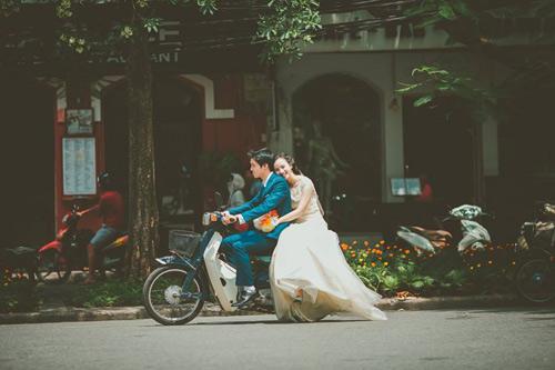 Ảnh cưới hoài cổ của cặp đôi nàng Nam – chàng Bắc - 1