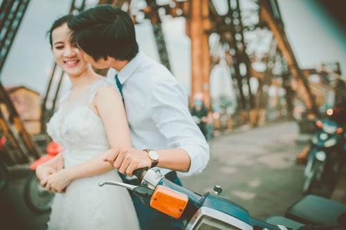 Ảnh cưới hoài cổ của cặp đôi nàng Nam – chàng Bắc - 10