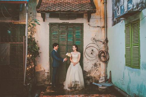 Ảnh cưới hoài cổ của cặp đôi nàng Nam – chàng Bắc - 11